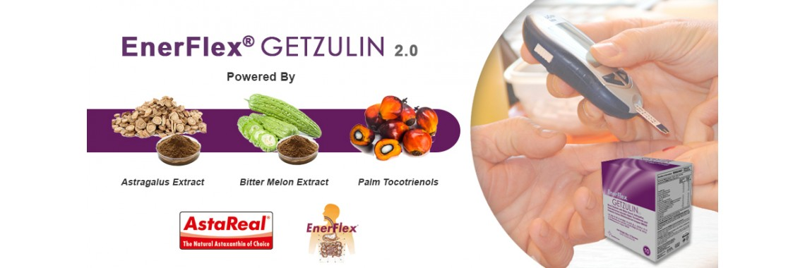 EnerFlex® GETZULIN - Live Well for Diabetics